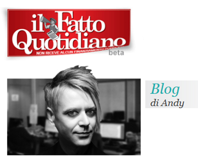 andy's blog - il fatto quotidiano